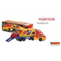 Camión Transporte Duravit 2 Autos Cod. 214 Juguete
