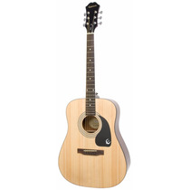 Guitarra Acústica Epiphone Dr-100 Profesional Natural