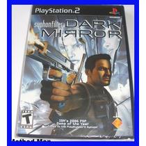 Syphon Filter Ps2 Dark Mirror Original Playstation Frete 10