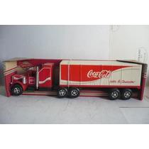 Camion Trailer Coca Cola Iga - Camioncito Antiguo Escala