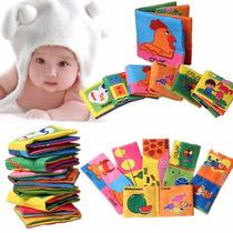 Libro De Tela Estimulacion Para Bebé