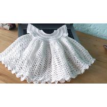 Vestido Tejido A Crochet Para Bebé