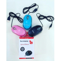 Mouse Sony Usb Optico Laser Rosado, Azul Y Negro At