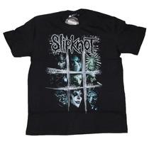 Camiseta Slipknot Scratch Squares Stamp