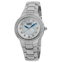 Reloj Burgi Bur093ss Es Diamond Stainless Steel White
