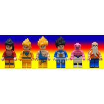 Set Dragon Ball Z Goku Vegeta Majimbu Compatible Con Lego