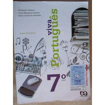Viva Portugues 7º Ano Elizabeth Campos Livro Otimo Estado