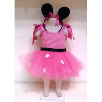 Hermoso Disfraz Minnie Para Beba Talle 1 Añito