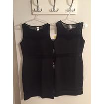 Vestido Negro Con Transparencia H&m
