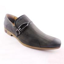 Sapato Masculino Social Ferracini Em Couro Casual Lançamento