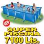 Pileta Intex Estructural 450 X 220 X 84 De Alto! 7127 Lts!!!