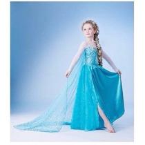 Vestido Fantasia Frozen Infantil - Vestidos Lindos Elsa Ana