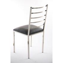 Cadeira Em Aço Inox 304 - Polida Ou Escovada