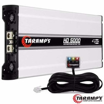 Amplificador Taramps Hd 5000 / 2 Y 1 Ohm 5000 W Rms 1 Ch