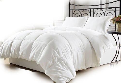 edredones color blanco