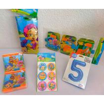 Paquete Complemento Bubble Guppies Disney Desechables Fiesta