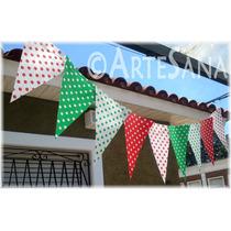 Banderines Estampados De Papel - Decoración Cumpleaños
