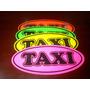 Aviso De Taxi Autoadhesivo