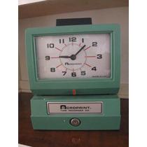 Reloj Checador Manual Estacionamiento Personal Costos