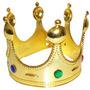 Coroa Rei Acessorio Fantasia Carnaval Festa Show Evento