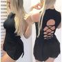 Blusas Femininas Decote Costa Cordão Princesa Festa S/ Renda