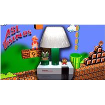 Lampara Decorativa De Mesa Con Forma De Nintendo Nes
