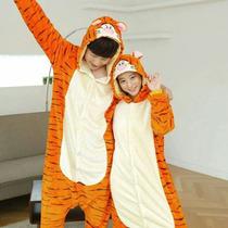 Kigurumi Moda Kawai, Pijama De Tigger, Mameluco Para Adultos