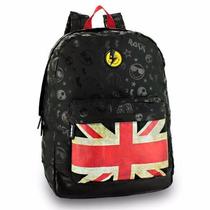 Mochila Smiley World Reino Unido Notebook Poliester Sm410