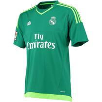 Real Madrid Jersey Verde 2015-2016 Portero Navas