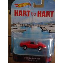 Hot Wheels Retro Ferrari Dino 246 Gts Hart To Hart