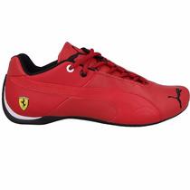Mujer Tenis Puma Future Cat Piel Mid Cat Ferrari Total Red