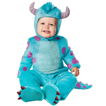 Disfraz Sulley Bebé Monster Inc 12/18 Meses Entrega Inmediat