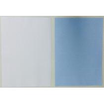 100 Folhas Papel Transfer Sublimatico, A4 Fundo Azul Havir