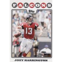 2008 Topps Joey Harrington Atlanta Falcons Qb