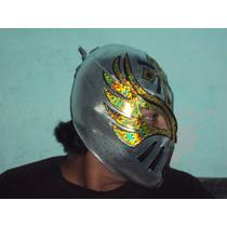 Mascara En Licra Eco De Luchador Caristico Sin Cara Mizteziz