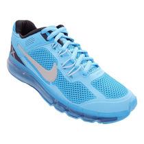 Tênis Nike Air Max Azul Bebê E Prata Masculino Frete Grátis
