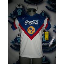 Tremendo Jersey America Retro Umbro 90s Reedición Blanco