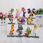Set Con 11 Muñecos De Colección Mario Bros Yoshi Luigi Dk