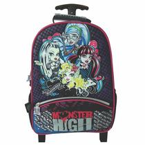 Mochila De Carrito Monster High Con Licencia Original 16