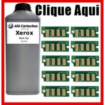 Refil 1 Kg De Toner E 10 Chip Xerox 3010 3040 3045