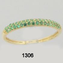 1306 Anel Feminino De Ouro 18k Rpw