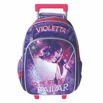 Mochila De Carro Violetta Con Licencia Disney 16