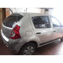 Renault Sandero 1.0 16v ((((((( Sucata )))))))))))