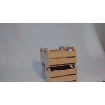 Mini Caixote Cru 10 Uni. P/ Lembrancinhas Decoração Mdf