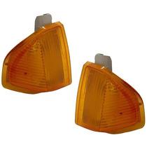 2 Lanterna Pisca Escort 83 84 85 86 Dianteira Ambar(par)