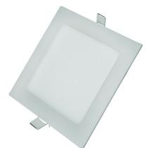 Painel Plafon Led Quadrado Embutir 25w Branco Quente