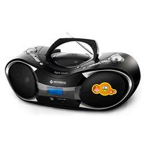 Som Portátil Mondial Super Sound Digital 8w Rms Boom Box