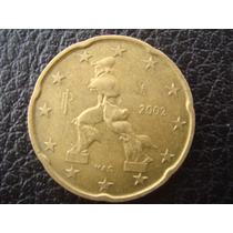 Italia - Moneda De 20 Ctvs De Euro, Año 2002 - Excelente