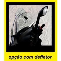 Bolha Cristal Para-brisa Baixo Com Defletor Para Citycom