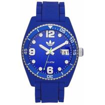 Relógio Adidas Adh 6153 Pulseira Silicone Unixes Original